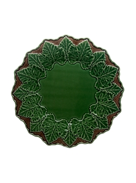 Picture of Charger Plate 33,5 Green/Brown