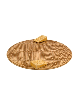Picture of Cheese Tray with Yellow Cheese